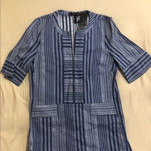 BCBG MaxAzria Striped Tunic/Dress